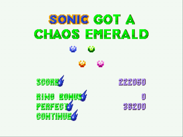 Sonic 3 Complete - finally appeared! 4th emerald - User Screenshot